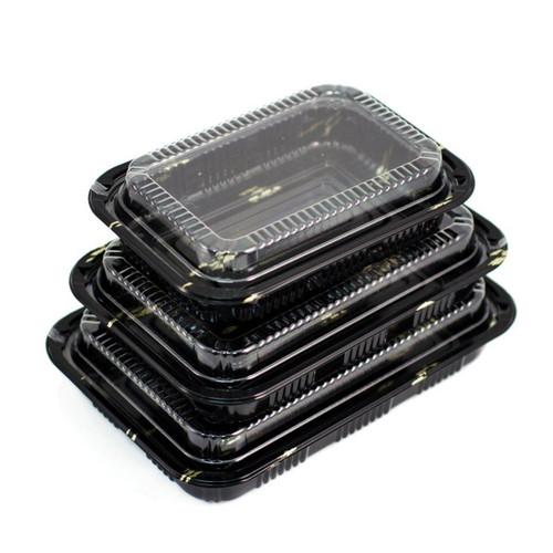 """CZ-7 Take Out Sushi Tray 8.1"""" x 5.1"""" (500/case)"""