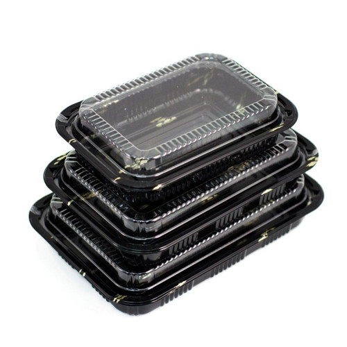 """CZ-9 Take Out Sushi Tray 9.25"""" x 6.3"""" (50/pack)"""