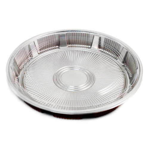 "Z-64 Round Take Out Platter 13.8"" dia (240/case)"