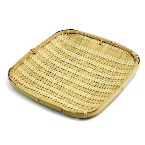 "Bamboo Tempura Plate 8.25"" x 8.25"""