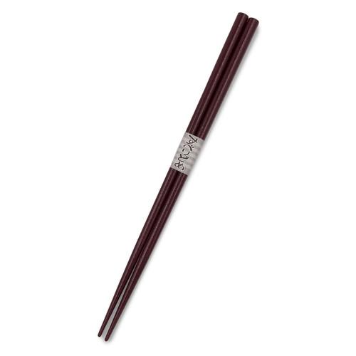 Burgundy Lacquered Non-slip Chopsticks