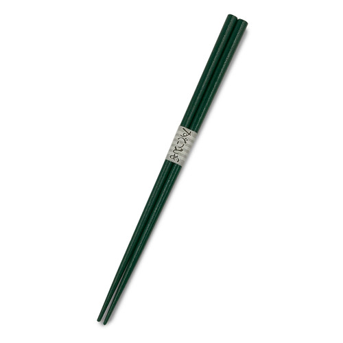 Green Lacquered Non-slip Chopsticks