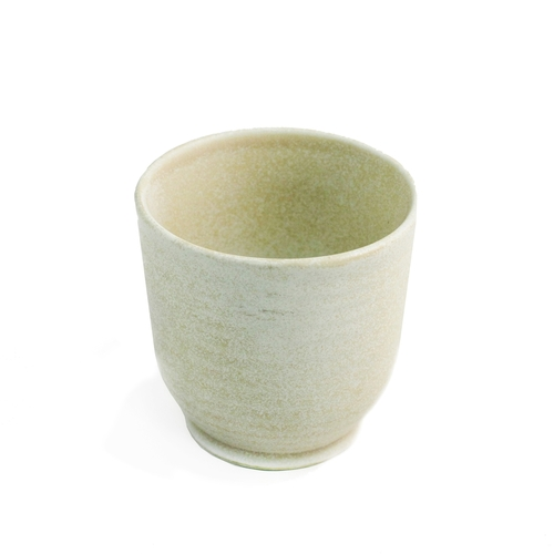 "Ivory Yunomi Tea Cup 6.5 fl oz / 2.95"" dia"