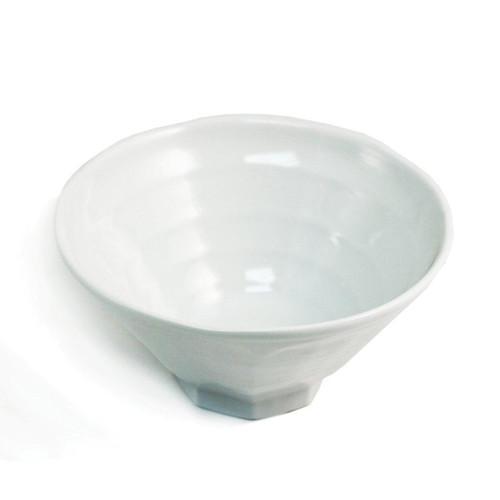 """Glossy White Noodle Bowl 54 fl oz /  8.7"""" dia"""
