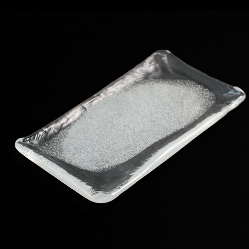 """[Clearance] Frosted Glass Plate 8.66"""" x 4.45"""""""
