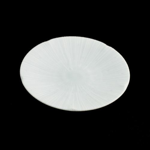 """Shell Textured Plate 5.1"""" dia"""
