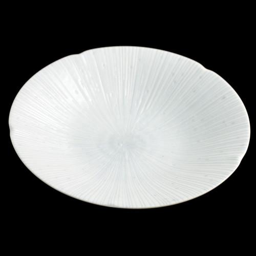 """Deep Shell Textured Plate 9.6"""" dia"""