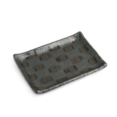 """Ichimatsu Rectangular Plate 8.15"""" x 5.71"""""""
