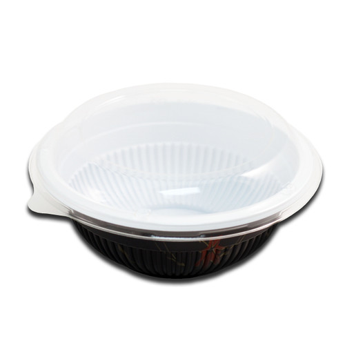 "Momiji Leaf Take Out Bowl 26 fl oz / 6.7"" dia (400/case)"