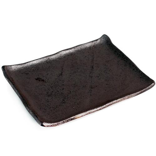 """[Clearance] Matte Black Rectangular Plate 9.53"""" x 6.81"""""""