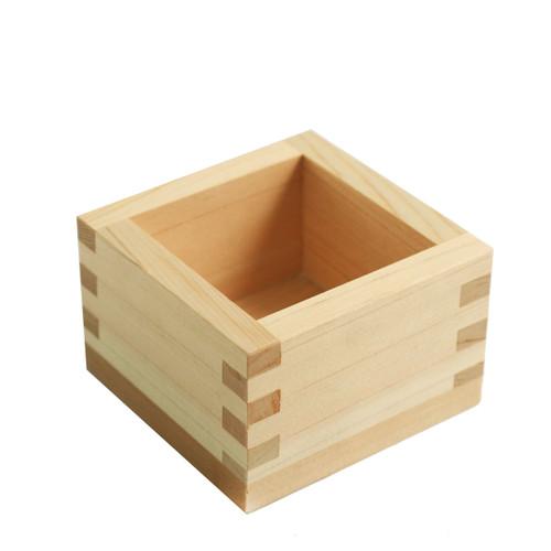Kimasu Square Cypress Sake Cup 5.5 fl oz