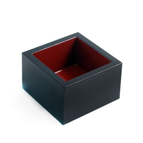 Masu Square Black Sake Cup 4.8 fl oz