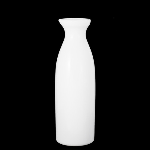 White Glass Sake Server 9.5 fl oz