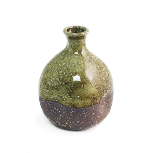 Moss Brown Ceramic Sake Server 9 fl oz