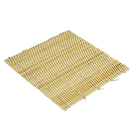 "Bamboo Makisu Sushi Rolling Mat Sushimaki Sudare 9.5"" x 9.5"""