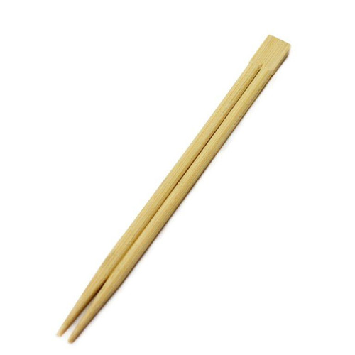 "8.25"" Disposable Square Tip Bamboo Chopsticks - 3000Pairs/Case"