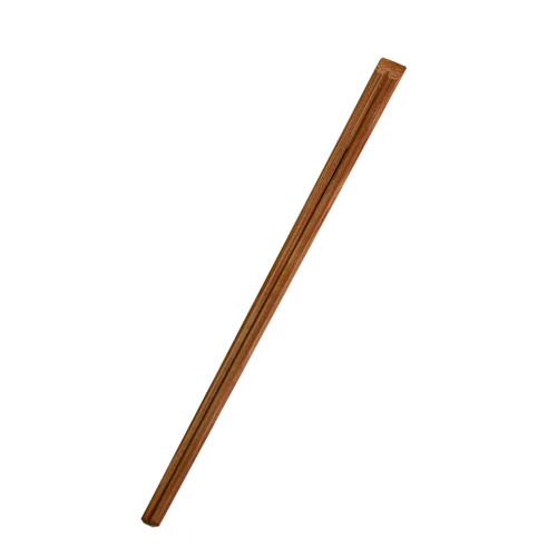 """9.5"""" Disposable Carbonized Slanted Tip Bamboo Chopsticks - 3000Pairs/Case"""