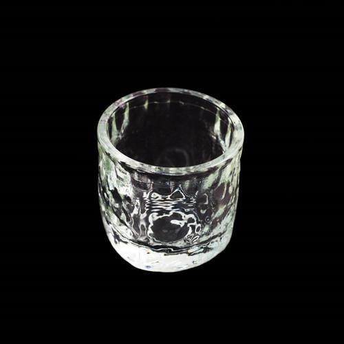 Textured Glass Sake Cup 1 fl oz
