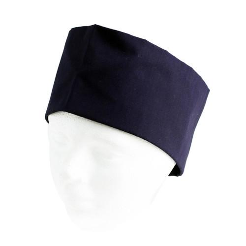 Navy Blue Mesh Top Skull Cap S