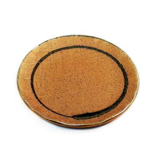 "Sand Beige Plate 6.46"" dia"