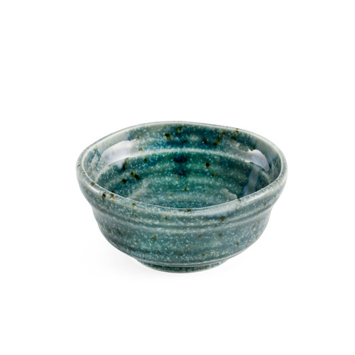 """Grainy Blue Bowl 4.5 fl oz / 3.7"""" dia"""