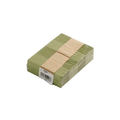 """Green Chopstick Sleeve 3"""" Length (500/pack)"""