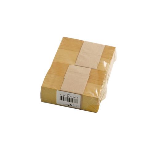 "Yellow Chopstick Sleeve 3"" Length (500/pack)"