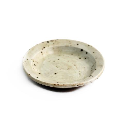 "Ivory Soba Yakumi Dish 3.66"" dia"