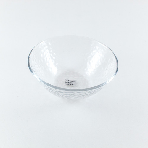 "Textured Glass Bowl 8 fl oz / 4.72"" dia"