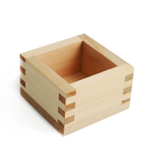 Kimasu Square Cypress Sake Cup 4.6 fl oz