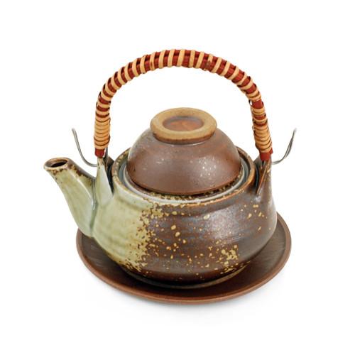 Brown Dobin Mushi Pot 10 fl oz