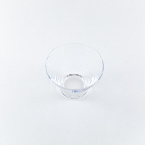 """Toyo-Sasaki Hard Strong (HS) Glass Bowl 3.58"""" dia"""