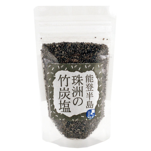 Noto Suzu Takesumi Shio - Bamboo Charcoal Sea Salt 3.5 oz / 100 g