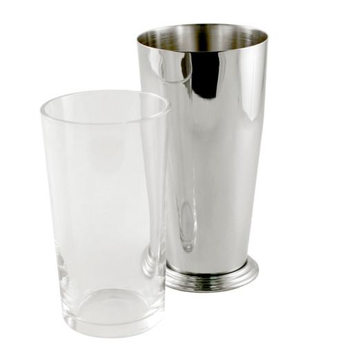 Yukiwa Stainless Steel + Glass Boston Cocktail Shaker 700ml (23.7 oz)