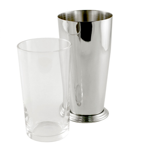 Yukiwa Stainless Steel + Glass Boston Cocktail Shaker 700ml (23.7 oz)