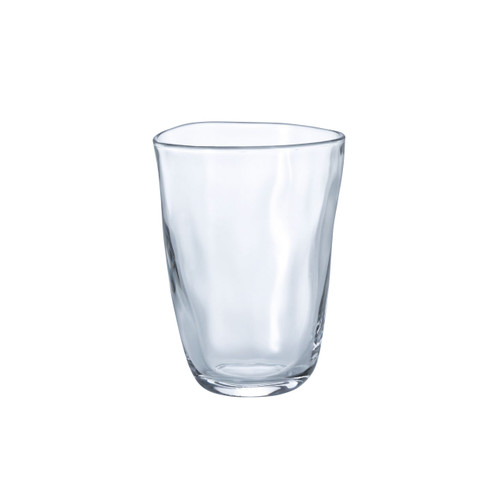 Organic Shaped Glass Tumbler 9 fl oz