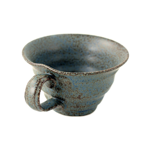 """Blue Soup Cup with Handle 12.5 fl oz / 5.12"""" dia"""
