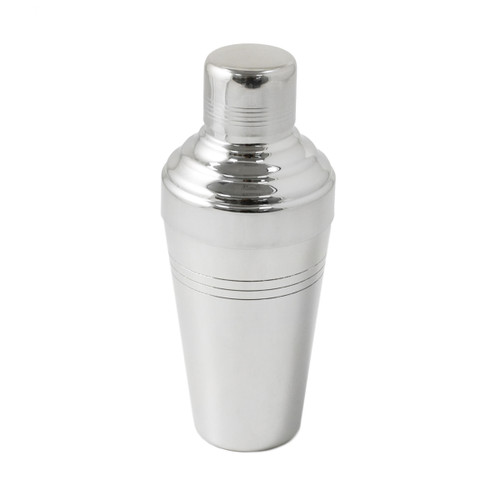 Yukiwa Stainless Steel Baron 3-Piece Cocktail Shaker 510ml (17.2 oz)