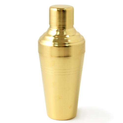 Yukiwa Matte Gold-Plated Baron 3-Piece Cocktail Shaker 510ml (17.2 oz)