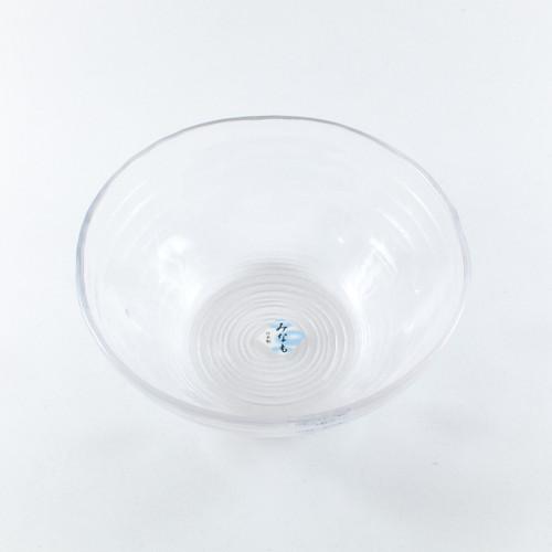 """Toyo-Sasaki Minamo Glass Bowl 30 fl oz / 7.17"""" dia"""