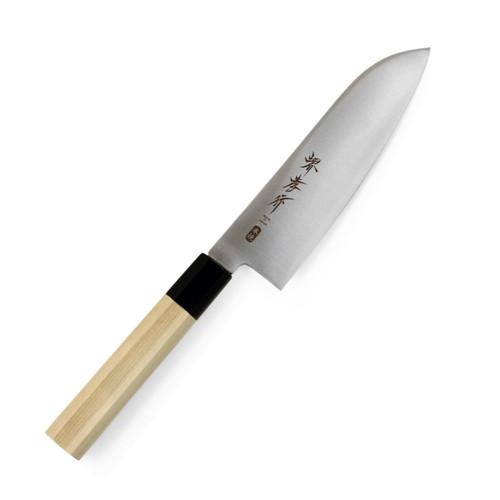 """Sakai Takayuki Inox AUS-10 Santoku 170mm (6.7"""") Wa-Handle"""