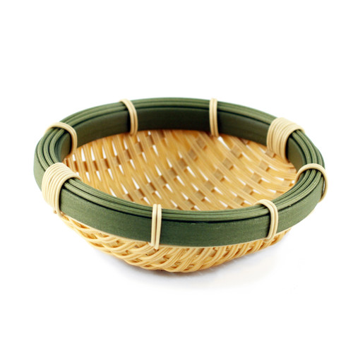 "Washable Faux Bamboo Bowl 5.9"" dia"