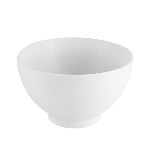 "Lined White Noodle and Donburi Bowl 29 fl oz / 6"" dia"
