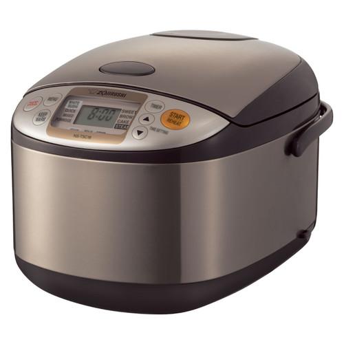 Zojirushi 10 Cup ETL Micom Rice Cooker, Warmer & Steamer NS-TSC18