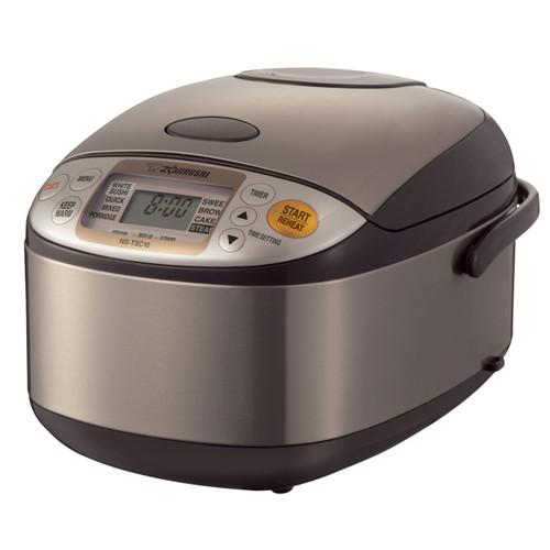 Zojirushi 5.5 Cup ETL Micom Rice Cooker, Warmer & Steamer NS-TSC10