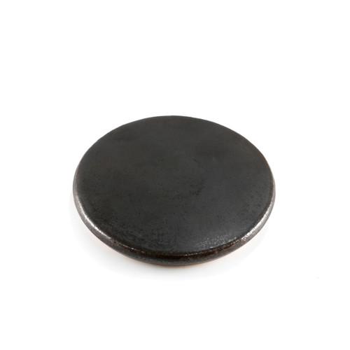 """Ishiyaki Round Hot Stone Plate 5.16"""" dia"""