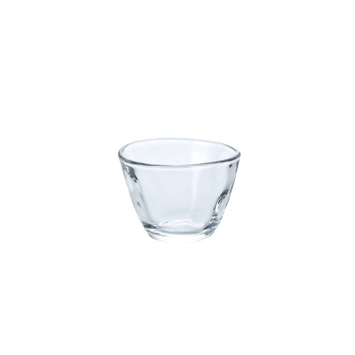 Organic Shaped Glass Sake Cup 2.5 fl oz