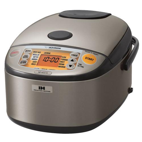 Zojirushi 5.5 Cup ETL IH Rice Cooker & Warmer NP-HCC10