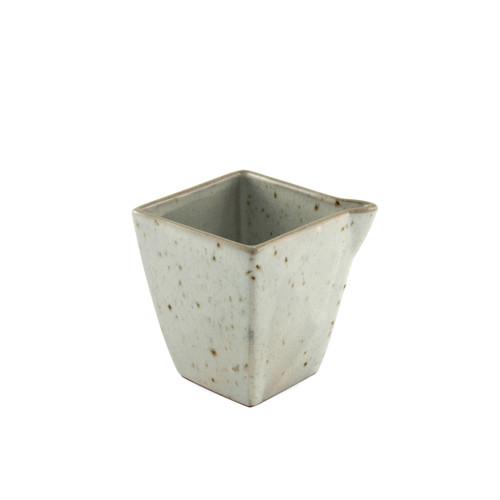 Cracked Square Ceramic Sake Server 9.5 fl oz