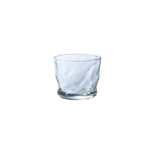 Organic Shaped Fluid Small Glass Cup 3 fl oz